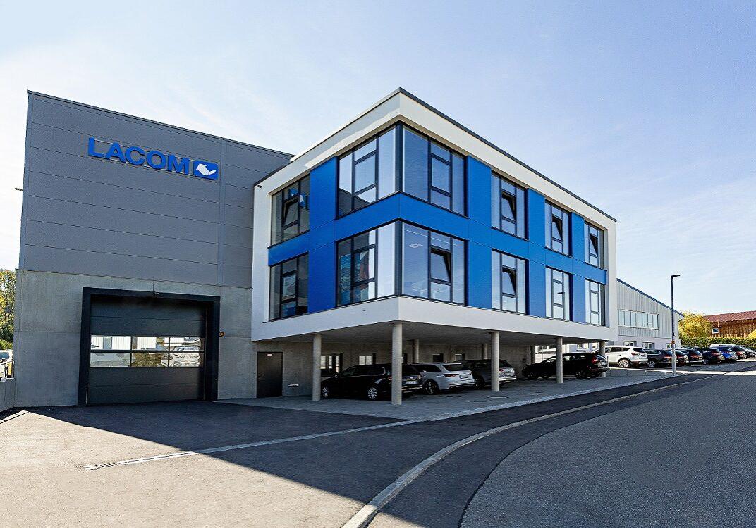 Neubau Montagehalle mit Bürokomplex