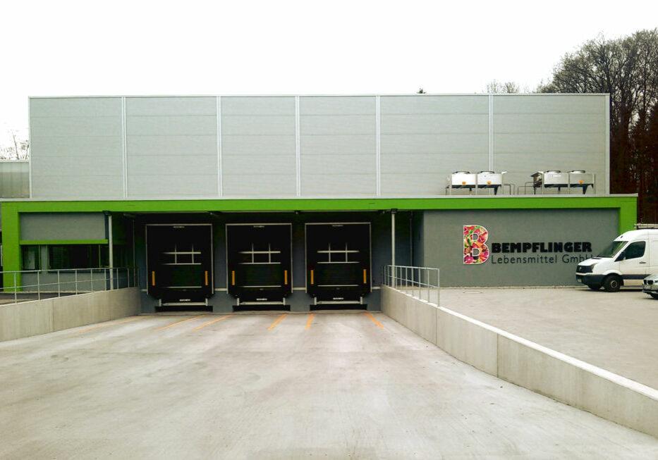 Umbau Produktionsstätte
