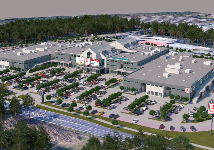 Modernisierung Fachmarkt-Center