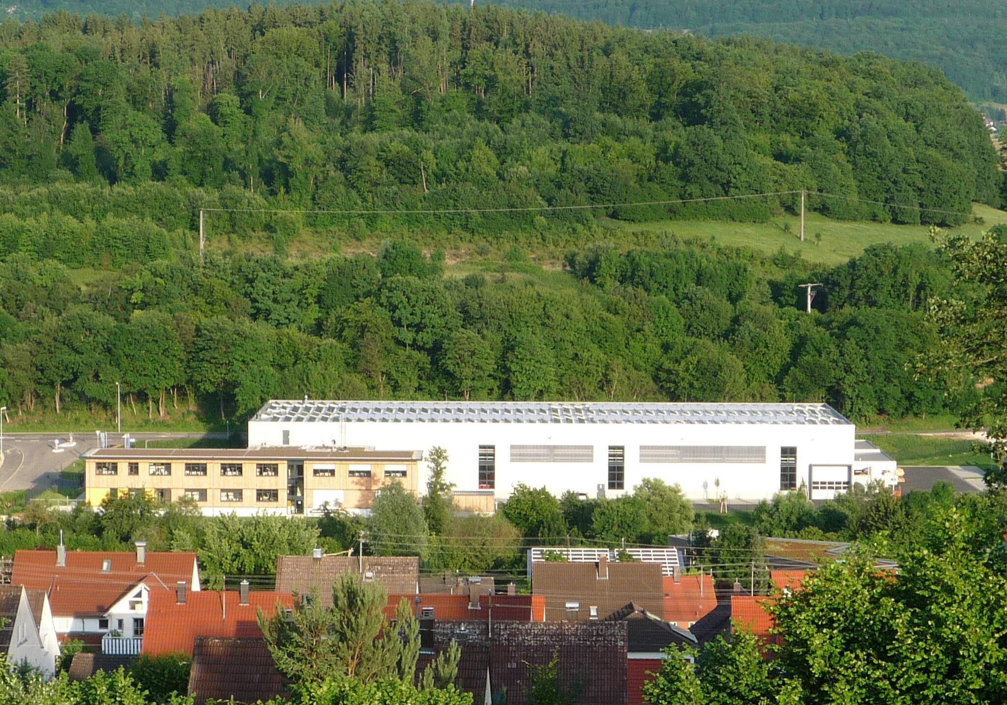 Neubau Fertigungshalle mit Verwaltungsgebäude