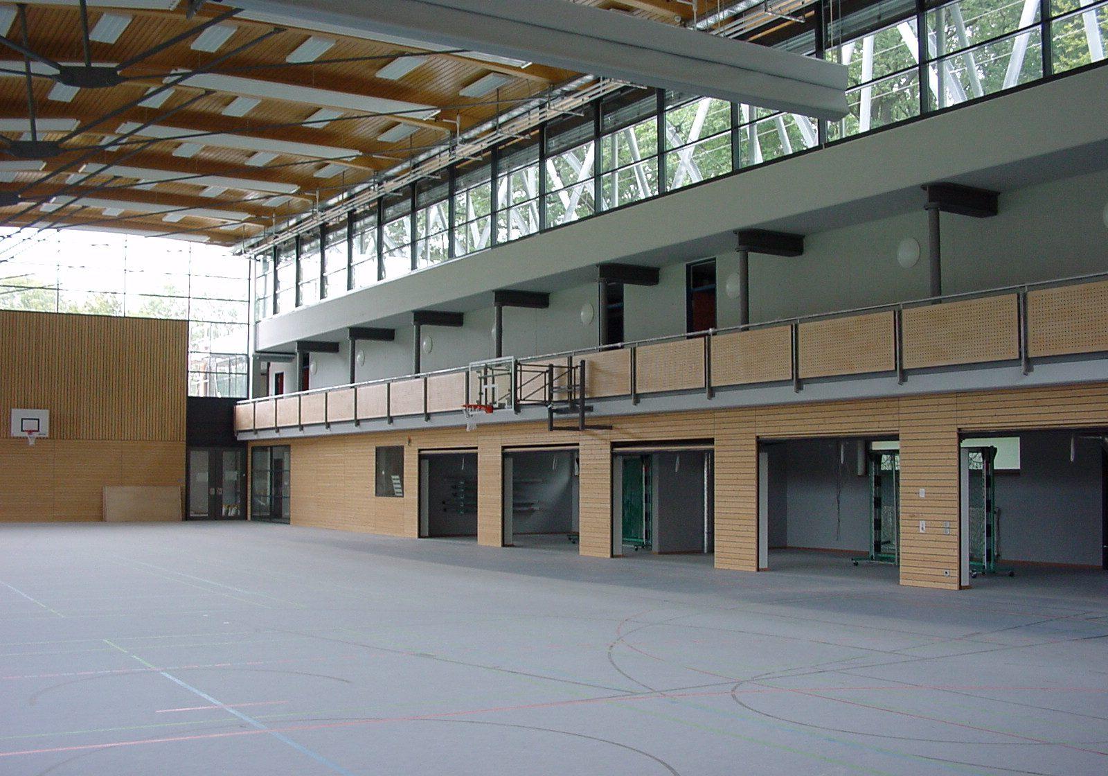 Neubau Sporthalle mit Vereinsheim